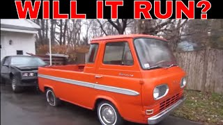 Bought a Ratty Ford Econoline Pickup. Can It Be Saved?