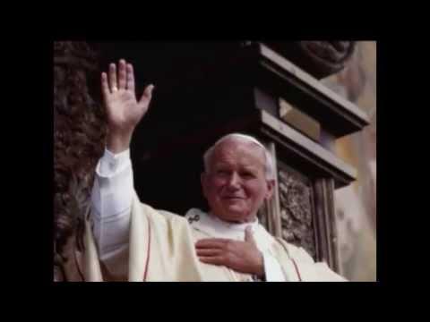 A tribute to Pope John Paul II and Cardinal Joseph Ratzinger Pope Benedict XVI