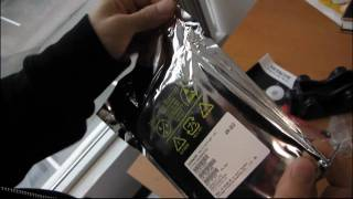 Hitachi Deskstar 1TB Retail Box Hard Drive Unboxing Linus Tech Tips