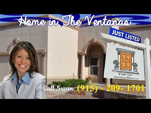 Home In The Ventanas El Paso TX- East Side For Sale - Private Retreat