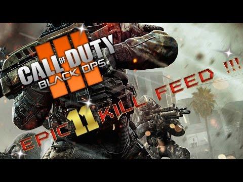 BLACK OPS 3 EPIC 11 KILL FEED !!