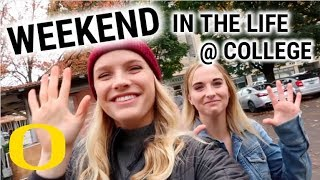 College Weekend in my Life // Visiting Portland, OR