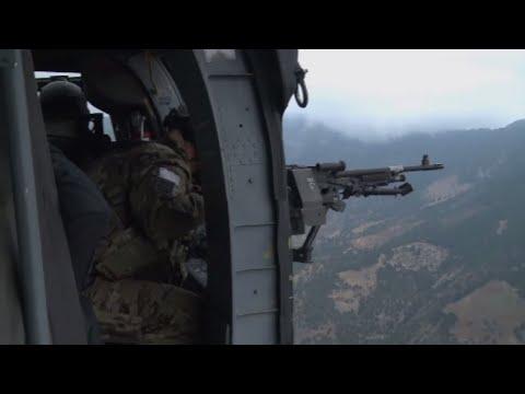 NATO in Afghanistan - ISAF Commander and Afghan officials visit border province Kunar