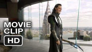 The Avengers #1 Movie CLIP - Loki's Threat (2012) Marvel Movie