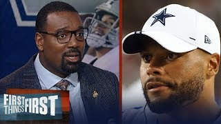 Cowboys need Dak Prescott to win a title - Chris Canty | NFL | FIRST THINGS FIRST