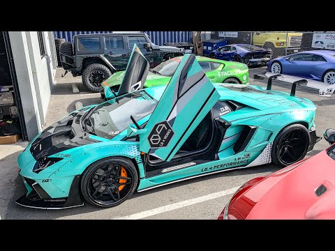 INTRODUCING THE LIBERTY WALK LAMBORGHINI AVENTADOR! *DAVES R8 MOD FAIL*