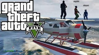 GTA 5 Online - Funny Moments! (Seaplane, Rollercoaster Flop, and Luxor Chicken)