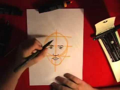 Как нарисовать лицо (для лентяев)