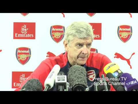 Arsene Wenger Pre Arsenal Vs Burnley FA CUP