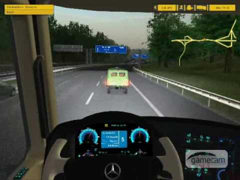 ETS Mercedes actros europe flyer mod