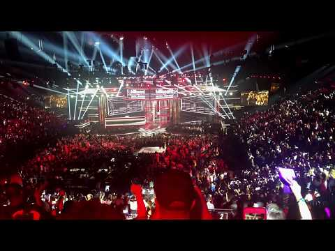 BTS 'Fake Love' - 2018 BBMA's HD Fancam [Back Row]