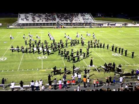 Drum Feature/Don't Stop Believing Alcovy High School Marching Band 2012-13