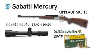 Hunting Field Test: Sabatti Mercury Kipplauf SKL15 - Sightron S-TAC 4-20x50 - S&B SPCE