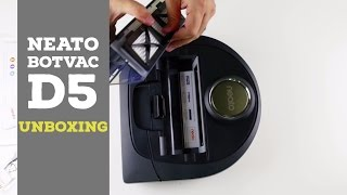 Neato Botvac D5 Connected Unboxing