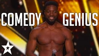 FANTASTICALLY FUNNY Auditions By Comedian PREACHER LAWSON On Got Talent! | Got Talent Global