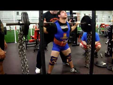 Aaron Pomerantz 148 Powerlifting Squat & Deadlift Training 01/06/3 @ BAG Image 1