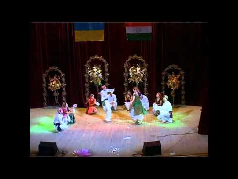 Pahari Nati By Bsmu Students(ukraine) On Eve Of 26th January Celebration. video