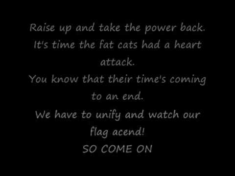 Muse - Uprising (lyrics) video