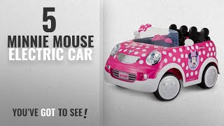 Top 10 Minnie Mouse Electric Car [2018]: Disney Minnie Mouse Hot Rod Coupe 12 Volt by Pacific Cycle