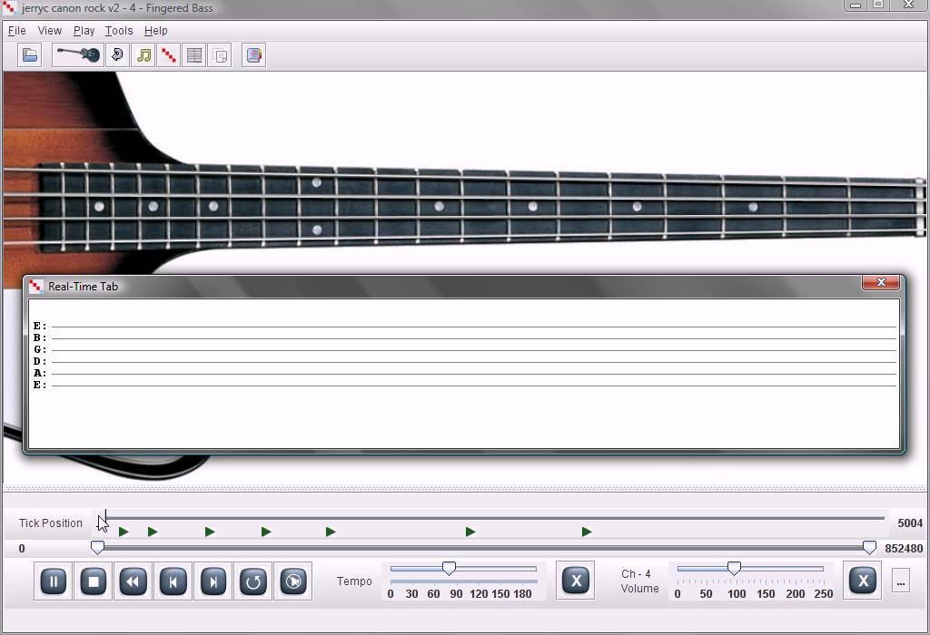Canon Rock Guitar Lesson Software - YouTube