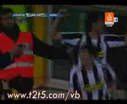 ياكوينتا على نابولي - يوفنتوس - Juventus Napoli Iaquinta