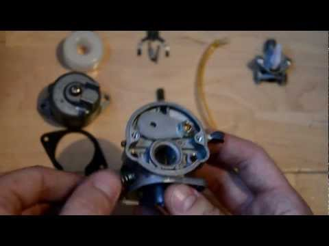 Fix your Mini bike Carb - bogging. cutting out etc