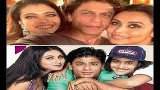 Shahrukh Khan Recreates  Kuch Kuch Hota Hai Pose With Kajol, Rani Mukerji