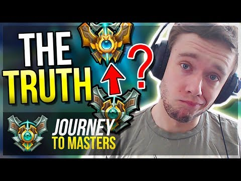 AM I QUITTING?? The TRUTH & The FUTURE of Journey to Masters - League of legends
