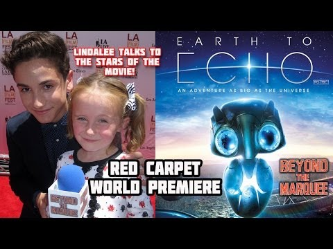 Earth to Echo World Premiere Red Carpet Cast Interviews w/ Lindalee (Web-Series Ep. 64)