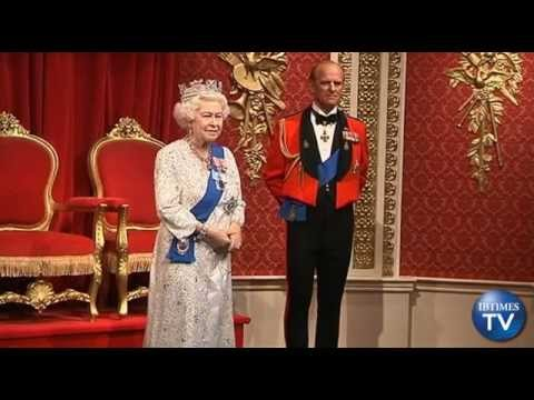 New Wax Figure of the Queen Unveiled at Madame Turssauds for Diamond Jubilee