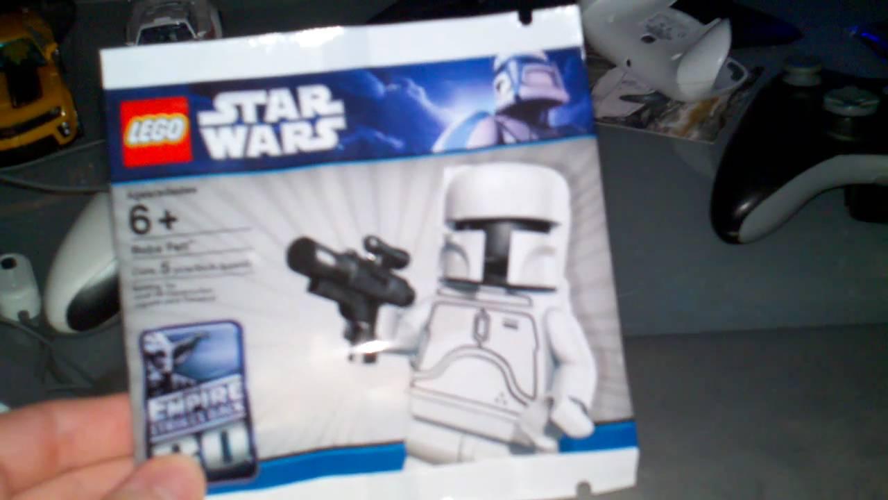 Star Wars White Boba Fett Lego Star Wars White Boba Fett
