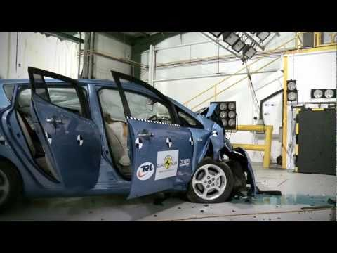 Euro NCAP | Подготовка к Краш-тесту Nissan LEAF