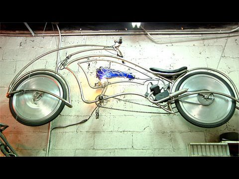 Building Custom Bicycles in New York City Music Videos