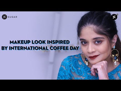 Makeup Look Inspired By International Coffee Day with 5 Lipstick Options | SUGAR Cosmetics