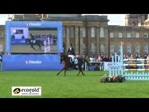 Ruth Edge and Carnival Prince – Blenheim Horse Trials 2010 – Show Jumping