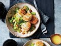 Sautéed Scallops with Shaved Celery Salad | Live