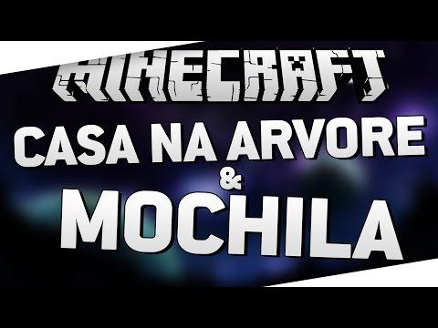 JABUTI SELVAGEM #4: MOCHILA & CASA NA ÁRVORE - Minecraft