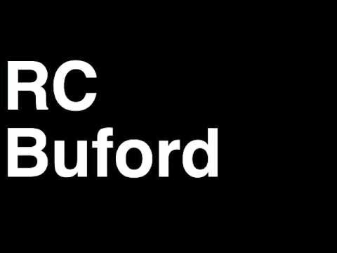 How to Pronounce RC Buford San Antonio Spurs NBA Basketball GM General Manager Interview Fired