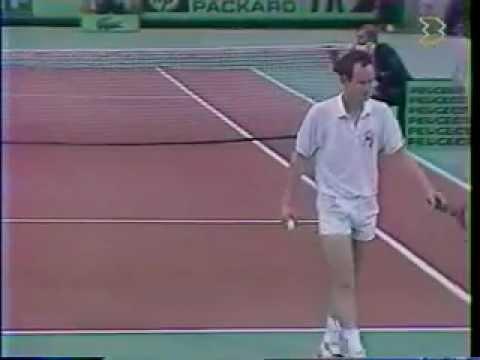 マイケル チャン vs マッケンロー - Paris 1989 - 05/10