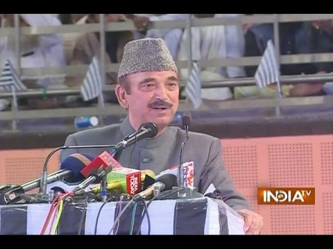 Congress Leader Ghulam Nabi Azad Sparks Controversy, Compares RSS with ISIS