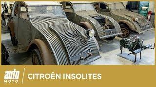 Conservatoire Citroën : 15 modèles insolites à découvrir