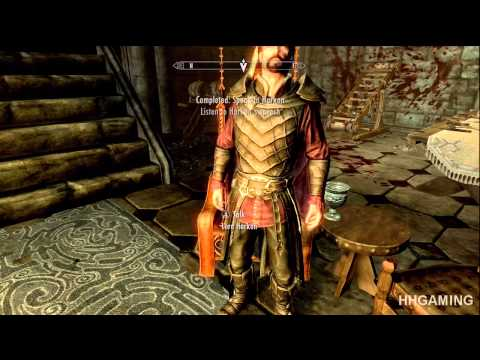 Skyrim Dawnguard - walkthrough part 7 HD gameplay dlc add on expansion - Vampire lord