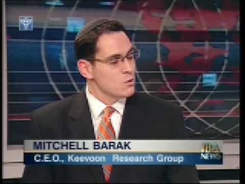 Mitchell Barak on Gaza-Shalit-Olmert-Barak-Netanyahu-Livni - IBA News 10 Jan 08