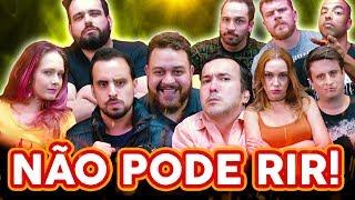 NÃO PODE RIR! com Nabote, Gigante Leo, Ruggeri, Xanda, Felipe Mariano, Diogo Luccas e Hugo Veríssimo
