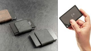 7 Futuristic Slim Wallets You Must Have || Best Wallets For Men #09