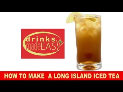 How To Make Electric Long Island Iced Tea