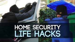 Home Security Life Hacks