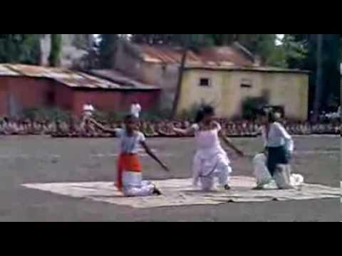 15th August 2013Samuhagit Rajmata jijau kanya vidhyalay Ganeshnagar...