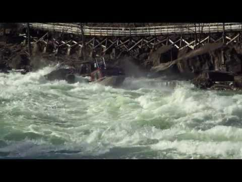 BWC Boats-1st Ever Niagara Gorge Jet Boat Run to Niagara Falls