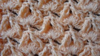 """CROCHET FLAMES"" (with invisible cable stitch) / ""LLAMITAS CROCHET"" (con ochos invisibles)"